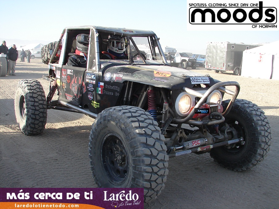 Who says rally drivers cant race desert motorsports? * Team