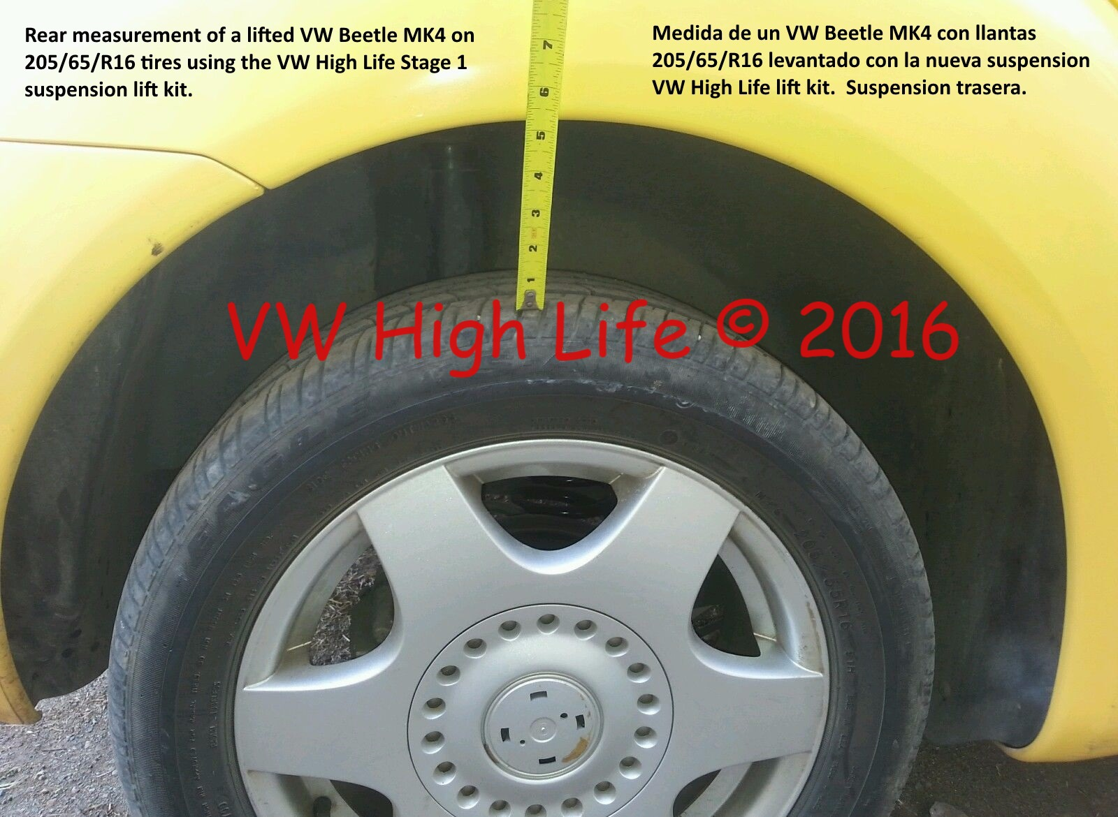 Kit Cars To Build Yourself In Usa: Suspension Lift Kit For VW Beetle MK4